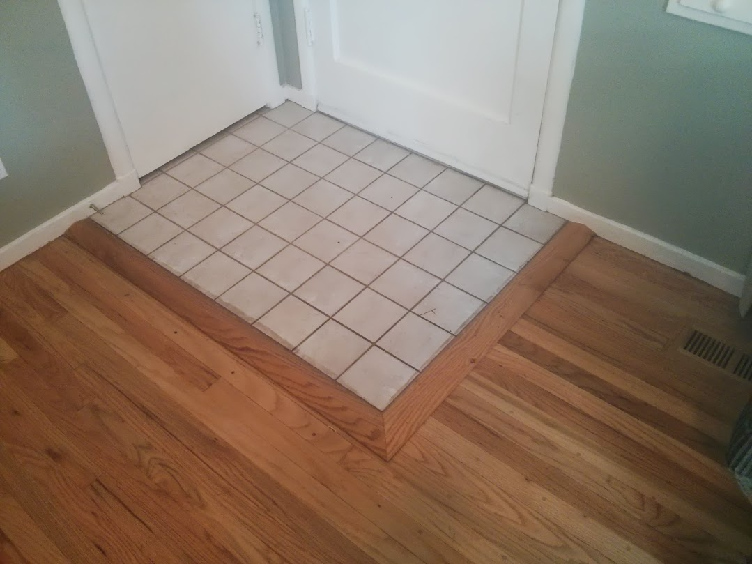 Tile Floor Tile Floor Threshold